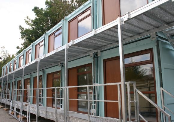 Container made into accommodation