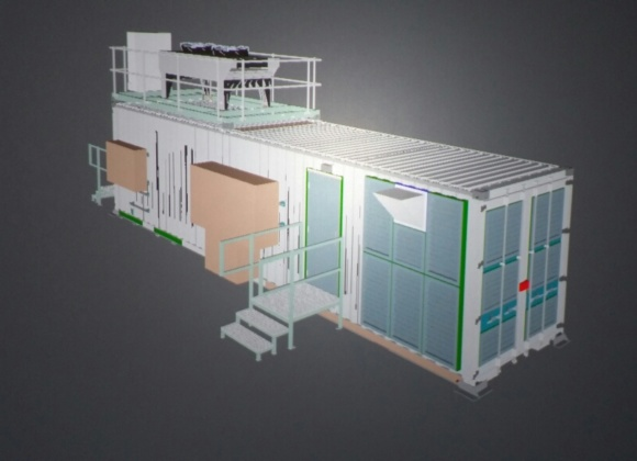 Container CGI with steps