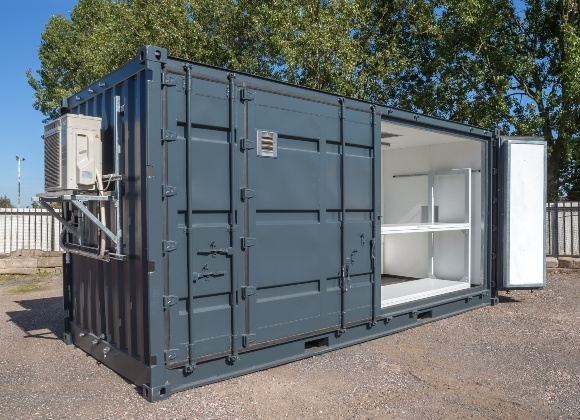 Air Conditioned Grey Container