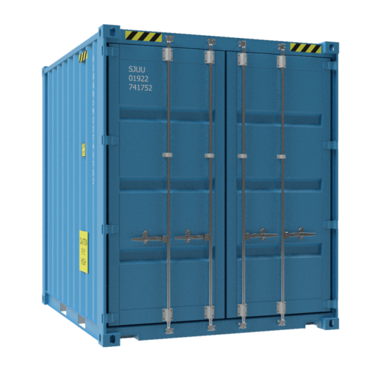 Small 10ft container no background