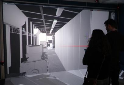 GCI interior of container