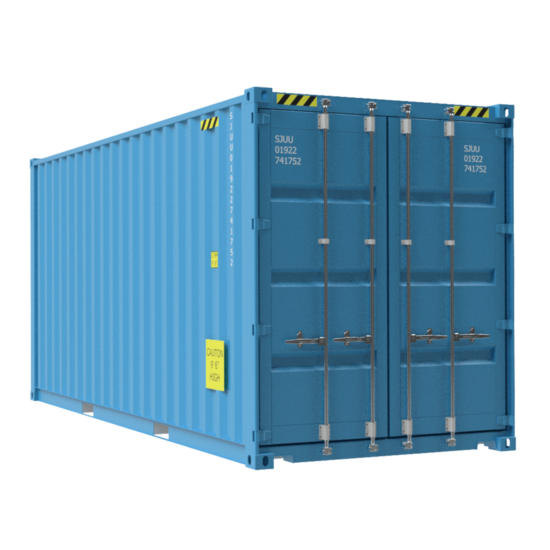 Small high container no background