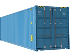 40ft Blue High Cube container