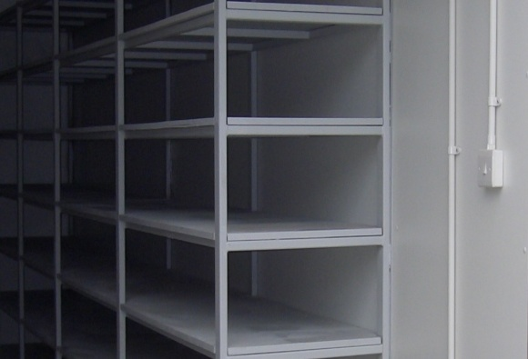 Built In Container Racking