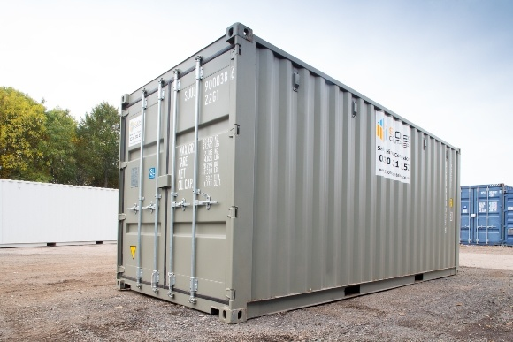 Grey 20ft Container For hire
