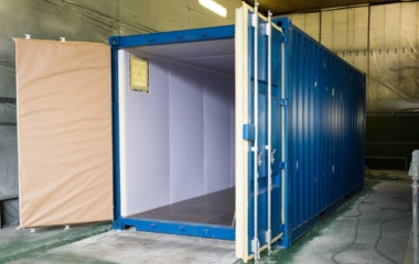 Container Inside a Lorry