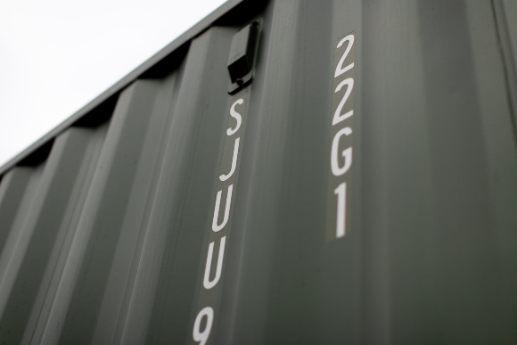 Green container numbers