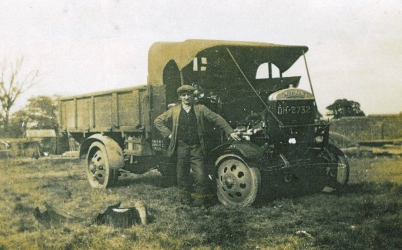 Sammy Jones Haulage Contractor 1914