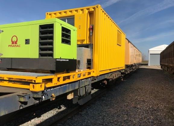 Pramac container in transportation