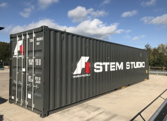 Stem Studio container side view