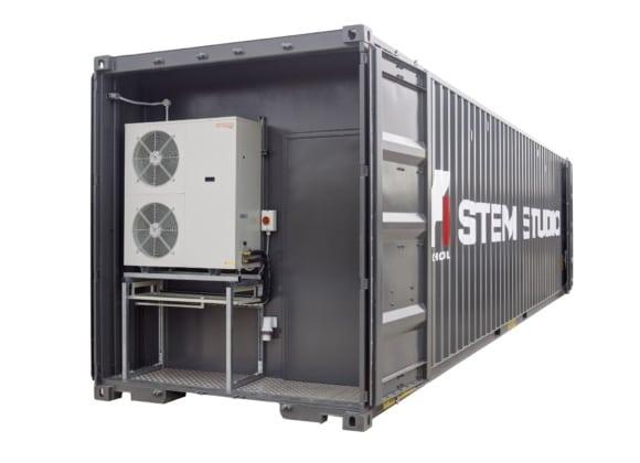 Stem studio container fans