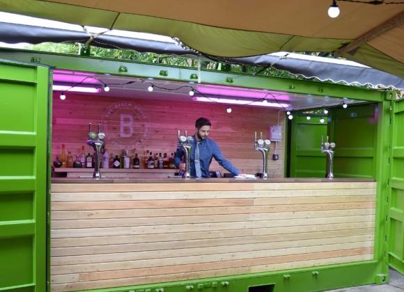 The Beech House Barman