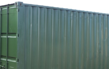 Top half of green container
