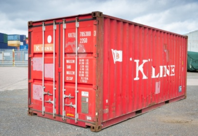 Red Kilne Shipping Container